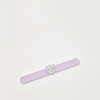 Unicorn Horn and Cat Accent Snap Band