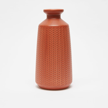 Textured Decorative Vase
