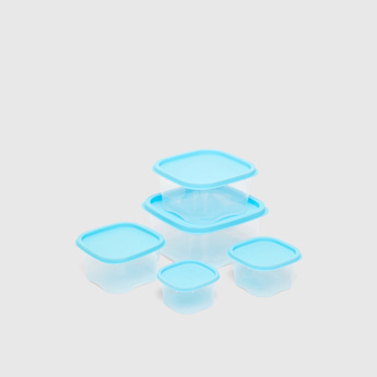 Set of 5 - Container with Contrast Lid