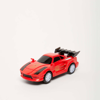 Supercar Pull Back Toy