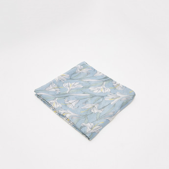 All-Over Floral Print Scarf