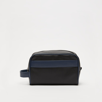 Solid Pouch with Zip Closure