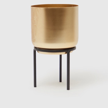 Metallic Decorative Flower Pot