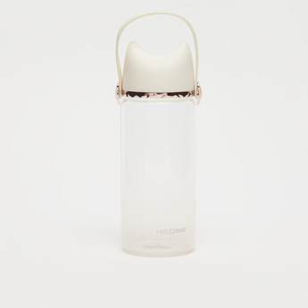 Water Bottle with Lid and Top Handle