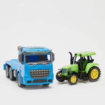 Truck Freight Car Set