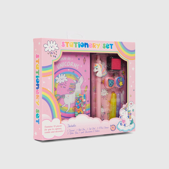 Unicorn 10-Pieces Stationery Set