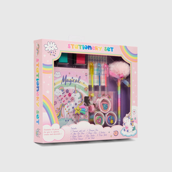 Unicorn 18-Pieces Stationery Set