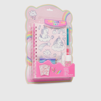 Unicorn Print 12-Piece Stationery Set