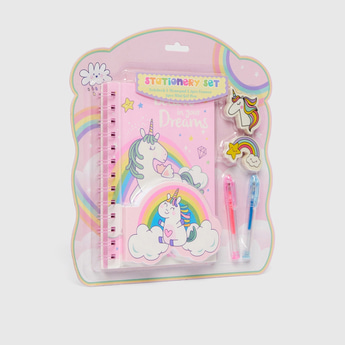 Unicorn 6-Piece Stationery Set