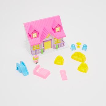 Mini Doll House Playset