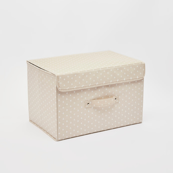 Printed Storage Box - 38x25x25 cms
