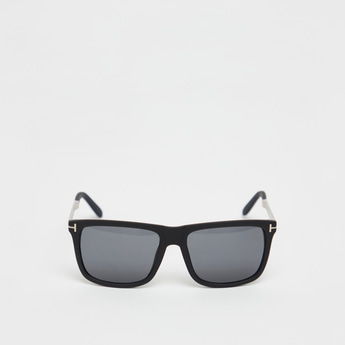 Full Rim Solid Sunglasses