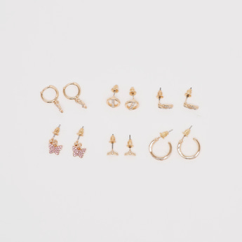 Set of 6 - Studded Earrings