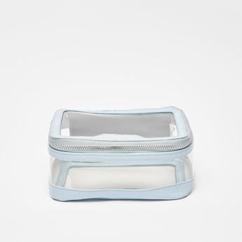 Textured Zippered Pouch