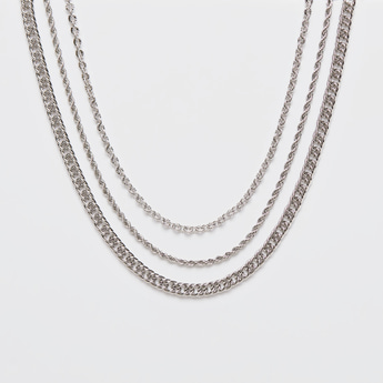 Assorted 3-Piece Choker Necklace Set