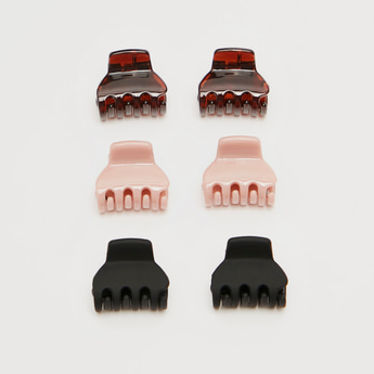 Set of 6 - Solid Hair Clamp