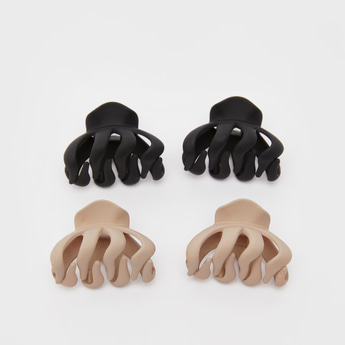 Set of 4 - Solid Hair Clamp