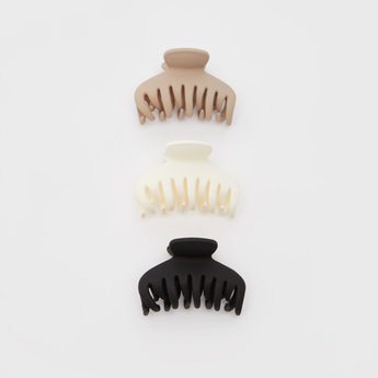 Set of 3 - Solid Hair Clamp