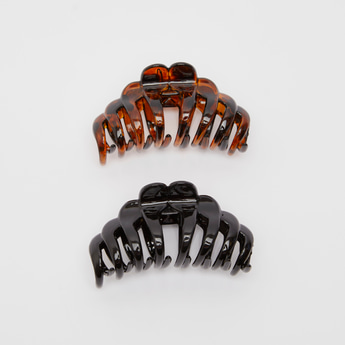 Set of 2 - Assorted Hair Clamp
