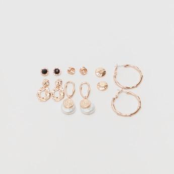 Set of 6 - Embellished Earrings