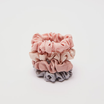 Set of 4 - Solid Scrunchies