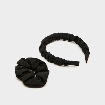 Solid 2-Piece Hair Accessory Set
