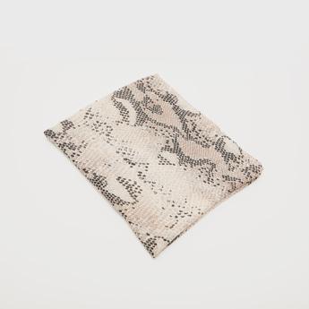 Reptilian Print Scarf