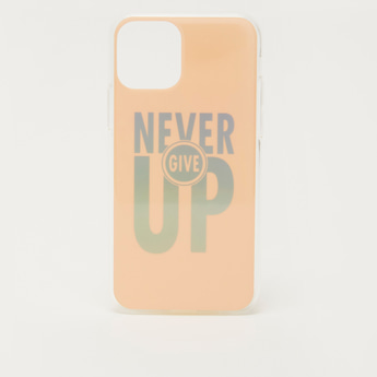 Text Print iPhone 11 Pro Mobile Cover