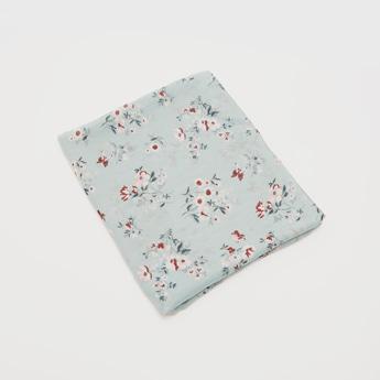 Floral Print Scarf