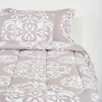 Printed 3-Piece King Size Comforter Set - 230x220 cms