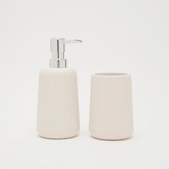Soap Dispenser and Tumbler Set