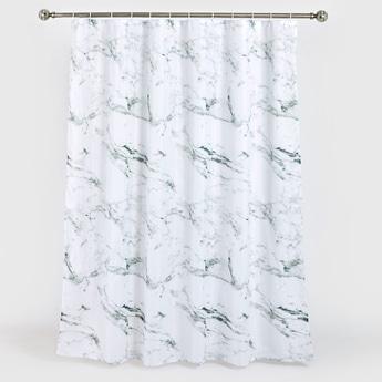 Marble Print Shower Curtain - 180x180 cms