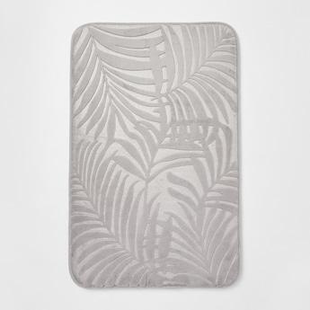 Textured Rectangular Bath Mat - 70x45 cms