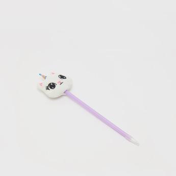 قلم سادة بزّينة قطة
