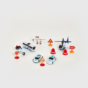 City Police Toy Cars Playset