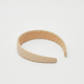 Quilted Broad Hair Band