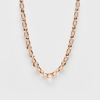 Long Chain Necklace with Lobster Clasp Closure