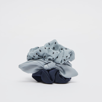 Set of 3 - Assorted Hair Scrunchie