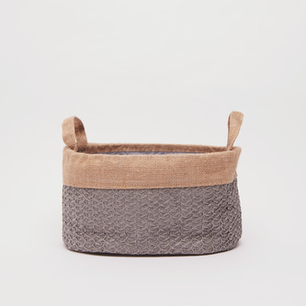 Textured Storage Basket