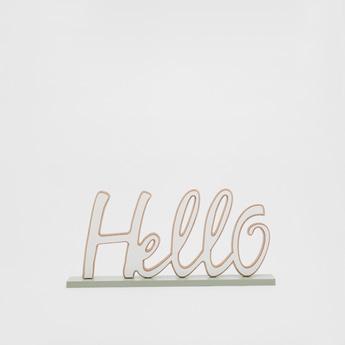 Hello Decorative Showpiece