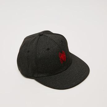 Textured Baseball Cap with Snap Back Closure