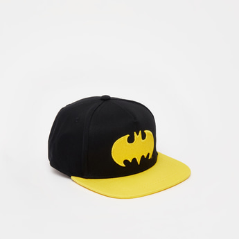 Batman Embroidered Baseball Cap with Adjustable Snap Closure