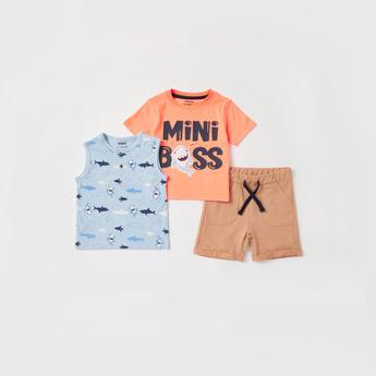 Printed 3-Piece Clothing Set