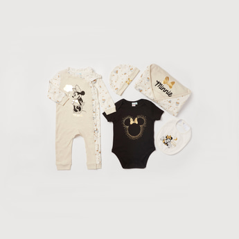 Minnie Mouse Graphic Print 5-Piece Clothing Gift Set