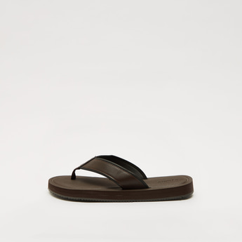 Thong Style Slip-On Sandals
