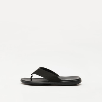 Thong-Style Slip On Sandals