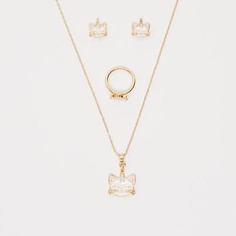 Applique Detail 4-Piece Jewellery Set
