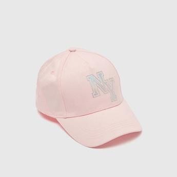 قبعة كاب بشريط إغلاق لاصق وطبعات رقائق معدنية