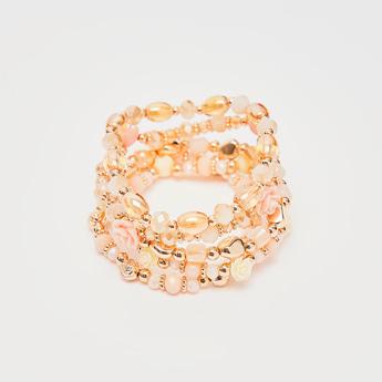 Set of 5 - Beaded Bracelet