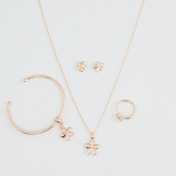 Studded 4-Piece Jewellery Set